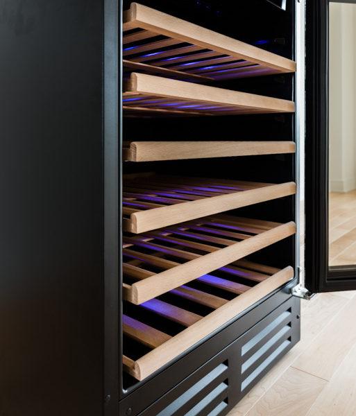 Magnum Cellars - cellier 46 bouteilles - 46 bottles wine cabinet - detail