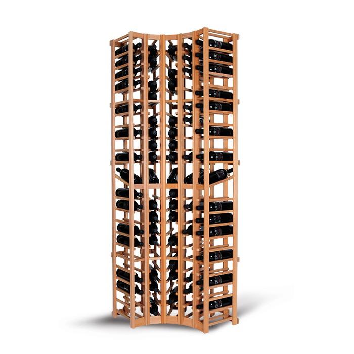 Magnum support à bouteille wine racking - corner module de coin