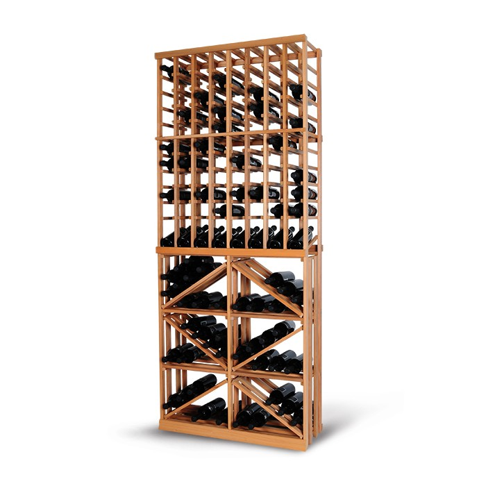 Magnum support à bouteille wine racking - empilage combo stacking