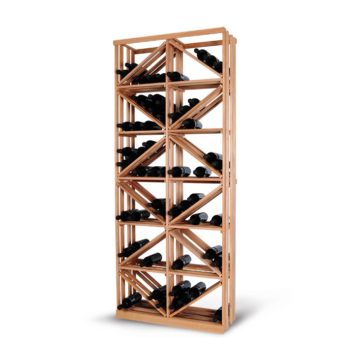 Magnum support à bouteille wine racking - vrac diamant complet fulll diamond stacking