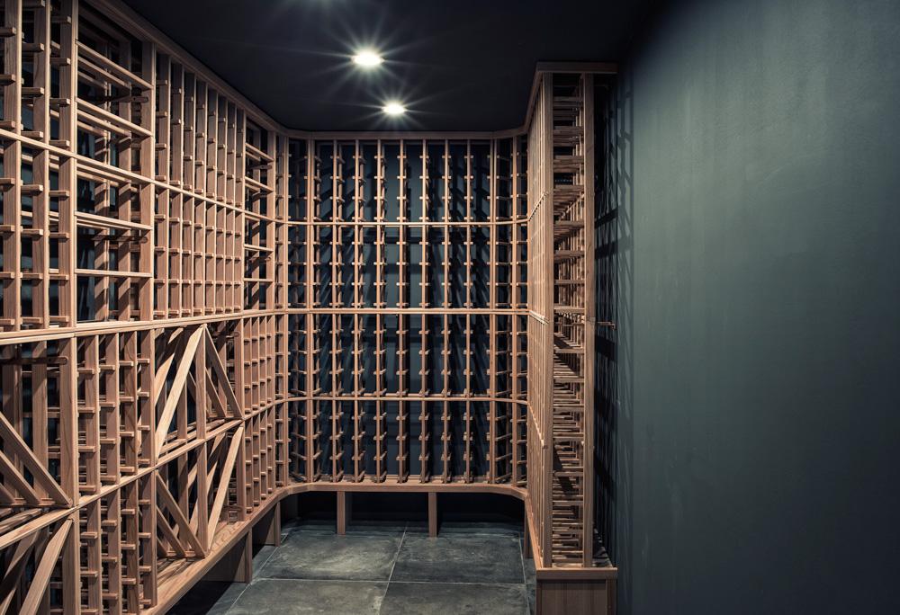 Cave à vin Outremont wine vault