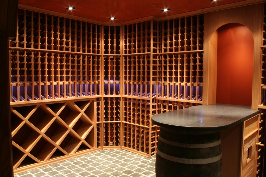 Magnum cellars - cave à vin custom wine vault - 1600 bouteilles bottles