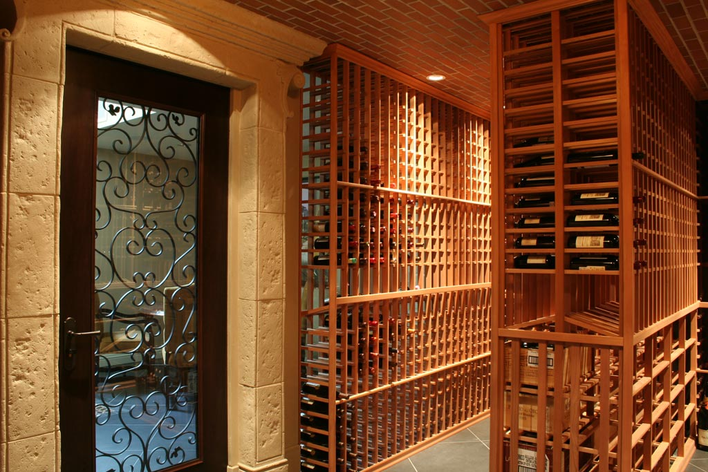 Magnum cellars - cave à vin custom wine vault - 4000 bouteilles bottles