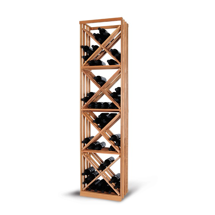 Magnum support à bouteille wine racking - empilage casiers en x stacking x-racks