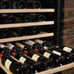 Magnum Cellars - cellier 181 bouteilles - 181 bottles wine cabinet - detail shelves